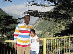Trip to Himalayas with my daughter