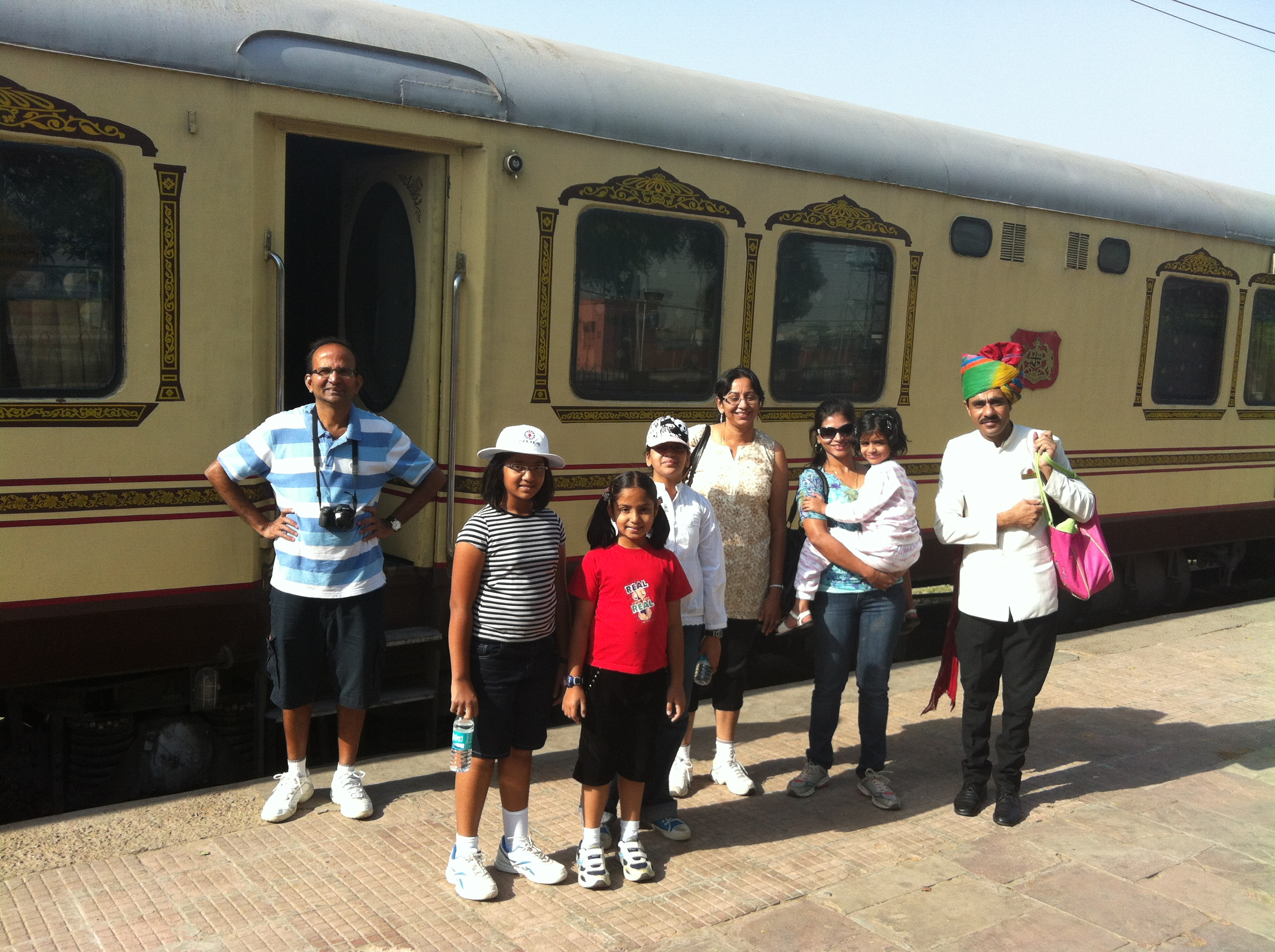 Palace on Wheels – Great way to see Rajasthan