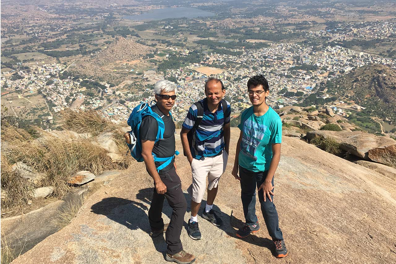 Trek to Madhugiri