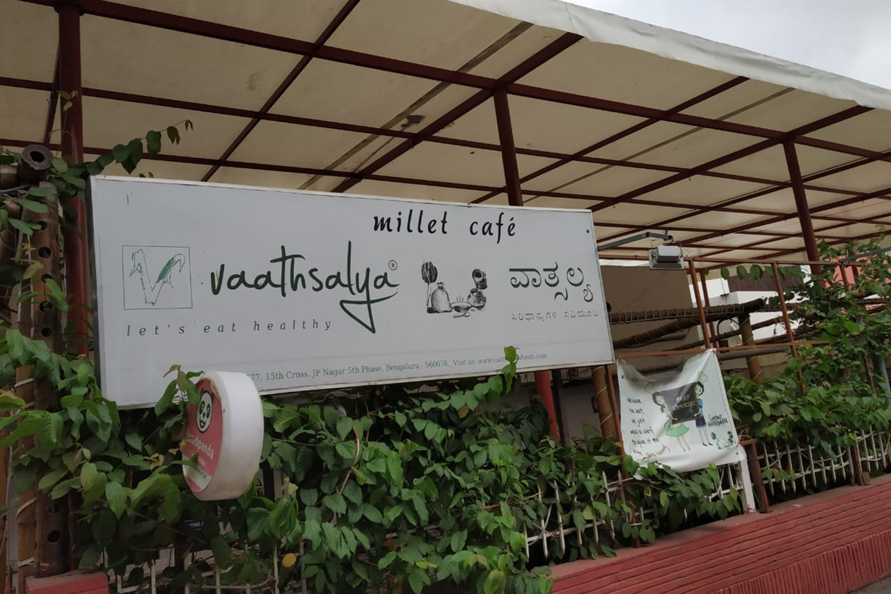 Discovering the passion behind Vaathsalya's Millet Cafe