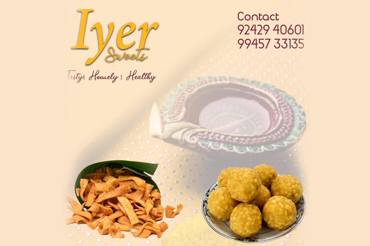 Iyer Sweets – Traditional home made South Indian Sweets and Savouries
