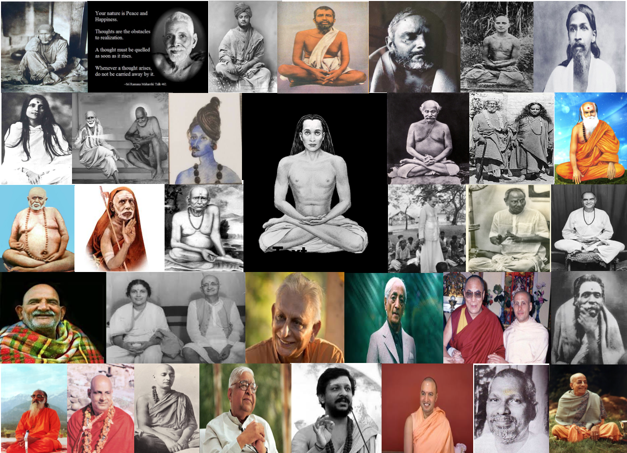 Gurus & Enlightened Souls of India : 1850 Onwards ..
