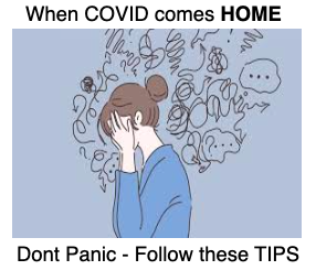 When COVID comes HOME – Are you PREPARED